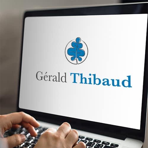 Gérald Thibaud est accompagné par Stéphanie
